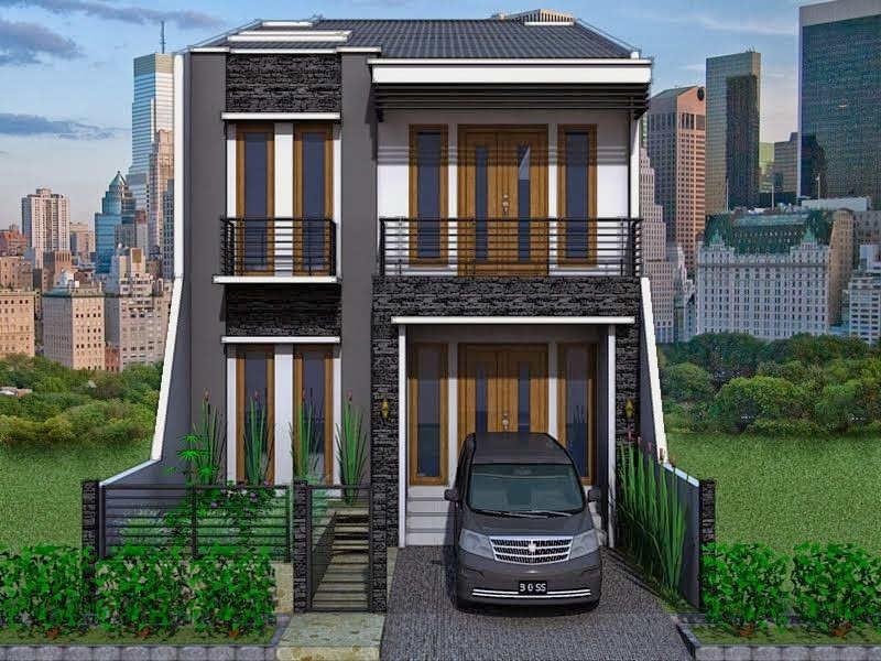Model Rumah Sederhana Minimalis 2 Lantai