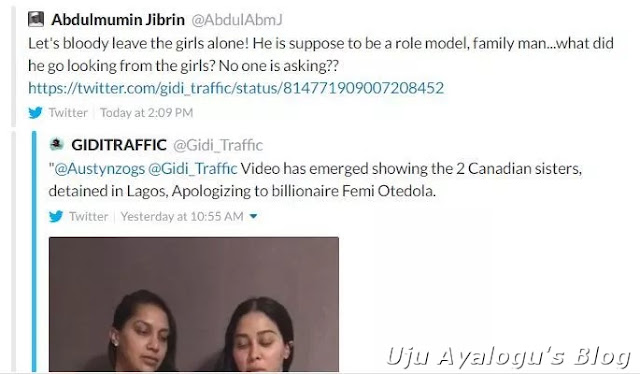 Lawmaker Jibrin attacks billionaire Otedola over Canadian girls saga, leaks Saraki's secret