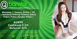 Keuntungan Bermain Judi Bandar Poker Online QBandars.net - www.Sakong2018.com