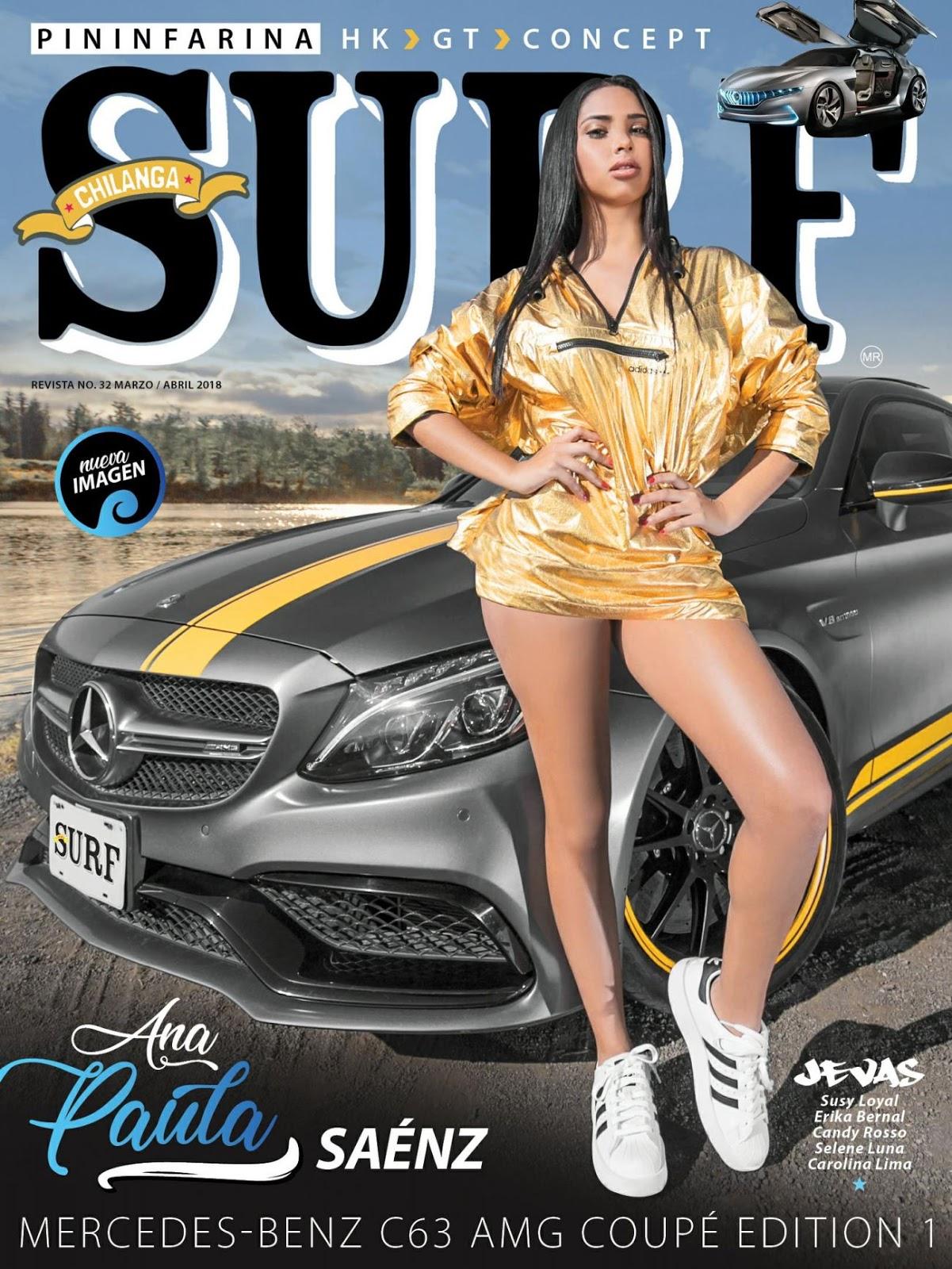 Ana Paula Saenz sexy lenceria Chilanga Surf Marzo Abril 2018 [FOTOS]