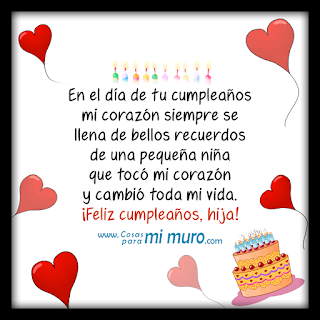 Feliz Cumpleaños Hija 4