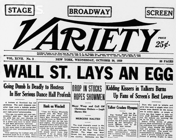 The Stock Market Crash Of 1929 And The Beginning Of The Great - The-great-depression-1929