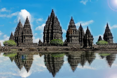 Tourist attraction Prambanan temple