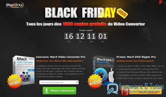 Offre promotionnelle : MacX HD Video Converter Pro (Mac) gratuit !