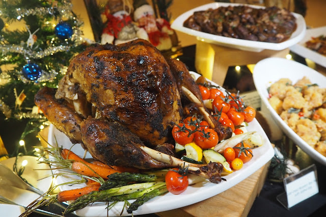 Roasted Turkey Element Restaurant Amara Hotel Review Singapore