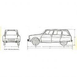 Manuales de mecánica y taller: Citroen Ami 8 Manual De