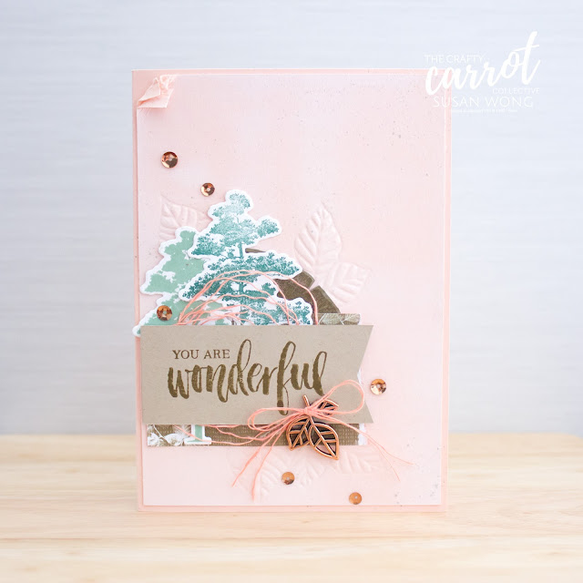 Rooted In Nature by Stampin' Up! - Susan Wong for The Crafty Carrot Co.