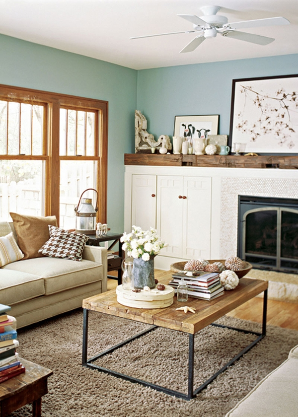 paint colors that go with oak wood trim, refresheddesigns: living happily with wood trim