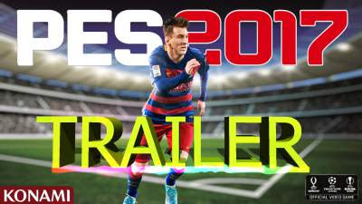 pes 17 trailer video