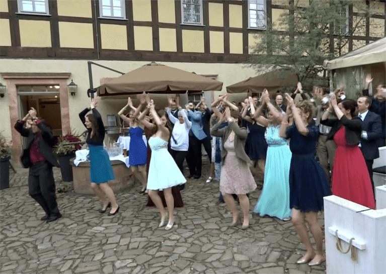 Steffi39s Hochzeitsblog Wie organisiere ich einen Flashmob