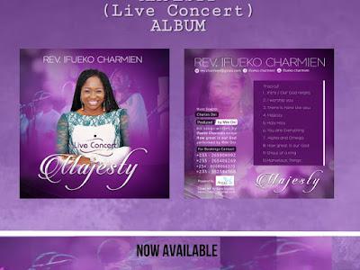 GOSPEL ALBUM: Rev. Ifueko Charmien - Majesty || @ifycharmien