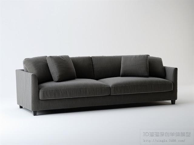 [3D Model Free] Sofa 2