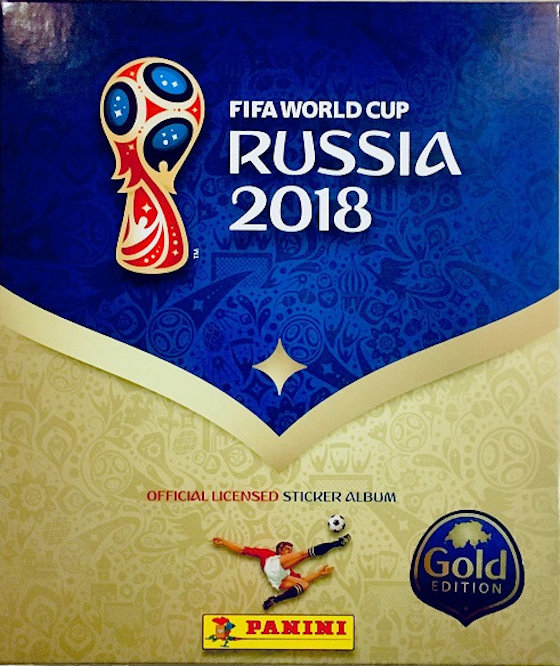 Panini Fifa World Cup Russia 2018 Sticker Book And 6 Football Stickers Collectibles