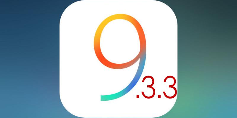 Download iOS 9.3.3 IPSW