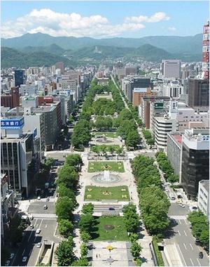 สวนโอโดริ (Odori Park)