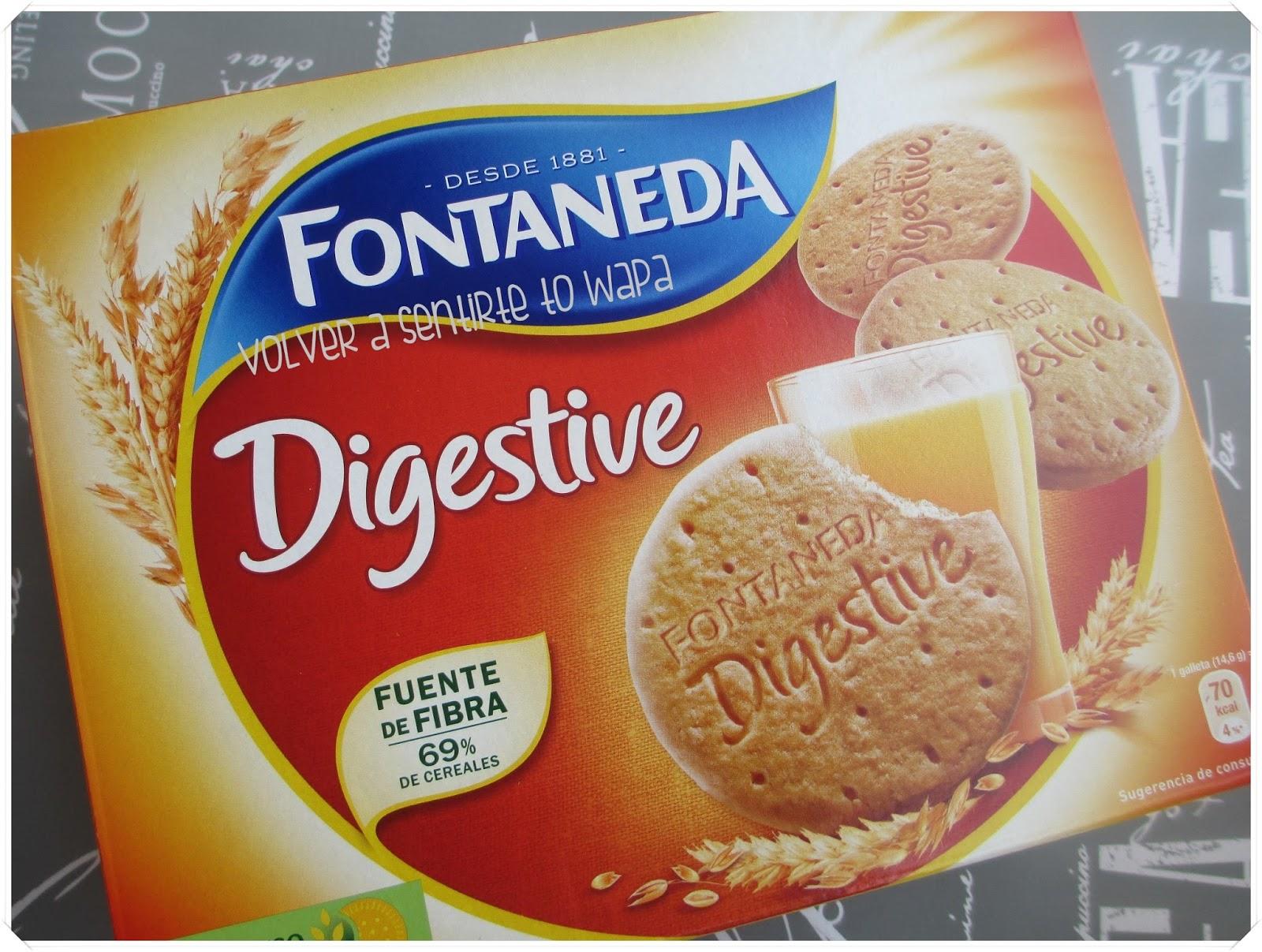 degustabox 'Vuelta al Cole' - Agosto 2014 - Fontaneda Digestive