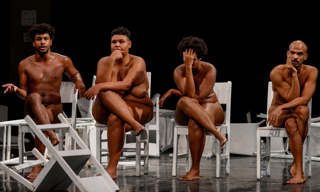 Angelique Lewis Nude dragon: the shock of the nude / brazil's stark new form of
