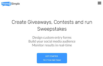 Promo simple contest maker as a promotional method