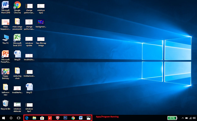 Batasi aplikasi untuk kecepatan lebih cepat windows 10