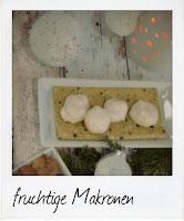 Rezept fruchtige Makronen