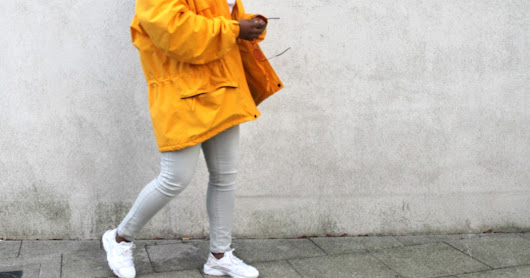 This yellow coat