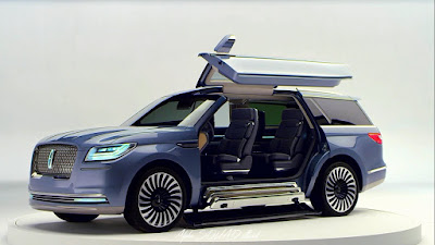 Lincoln Navigator 2017 ReNew, Redesign