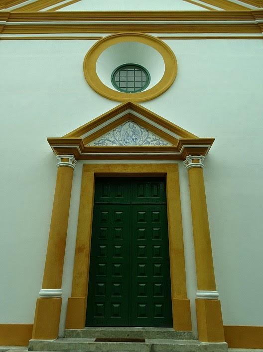 Entrada da Igreja Matriz São José