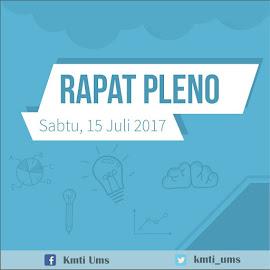 RAPAT PLENO KMTI 2017