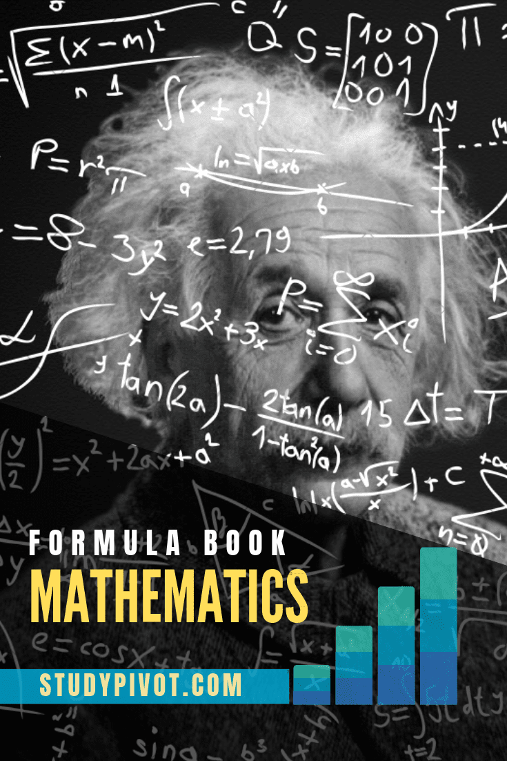 Mathematics Formula sheet pdf Book  Free Download