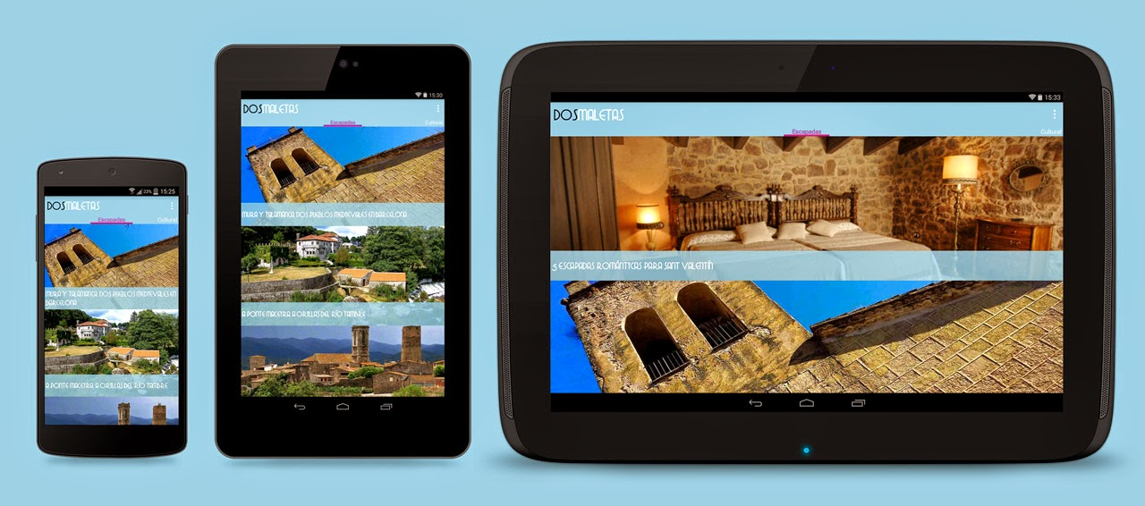 dosmaletas app para Android