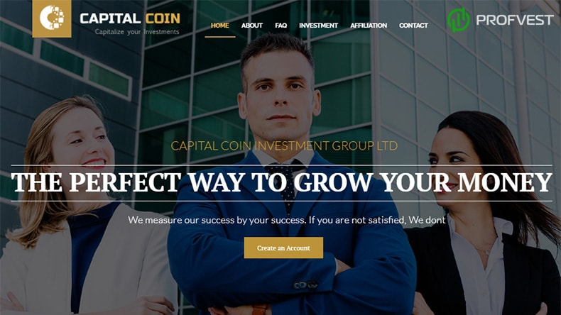 Capital Coin обзор и отзывы HYIP-проекта
