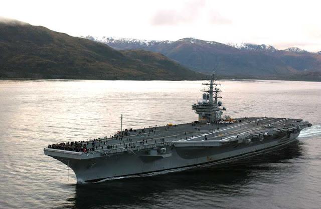 Kapal induk A.S. USS Ronald Reagan akan di Korea Selatan bulan ini