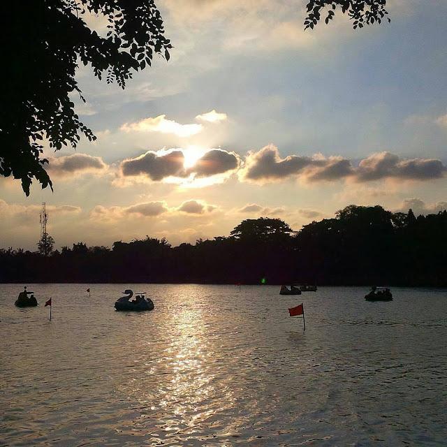 foto danau setu babakan