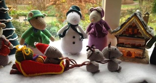Met Mijn Hoofd In De Wolletjes Kerstgroep Dickens Muizen