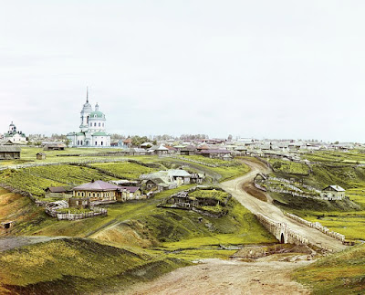 Fotografías a color del Imperio Ruso