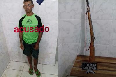 SÃO BERNARDO (MA): Homem é preso por tentativa de homicídio