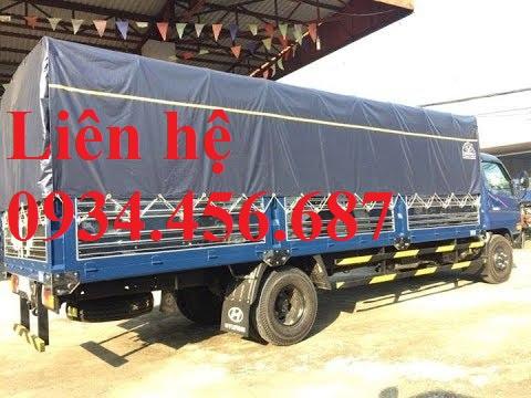 Hyundai 110sl thùng bạt dài 6m2