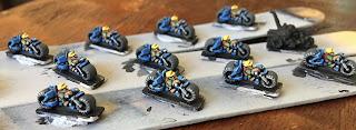 Games Workshop Epic Squat Biker Squad Edge Highlight Watercolor Pencils