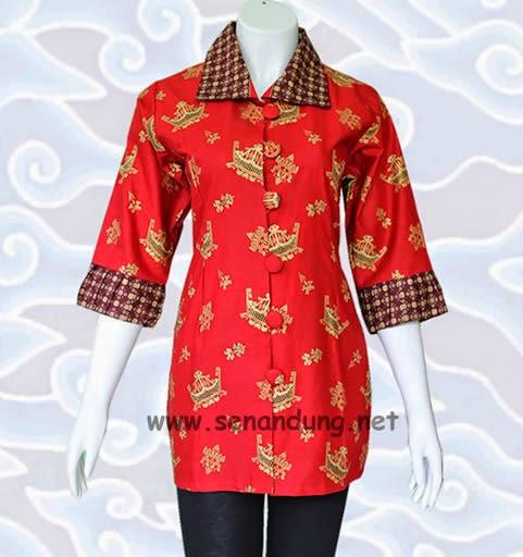 Baju Batik Sarimbit Couple Pasangan Modern Murah Olah Raga
