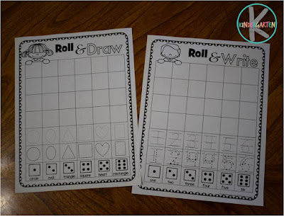 kindergarten shape worksheets