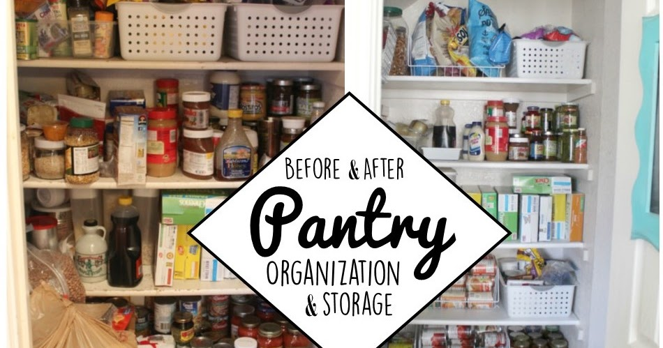 Building Our Hive Pantry Organization Storage Before