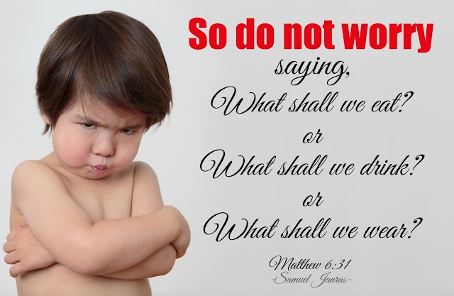 Do Not Worry - Motivational Bible Quotes