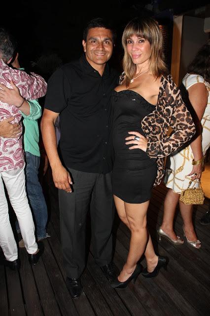 Pablo L. M. Guelfo y Greta Rodríguez en Casa Oro