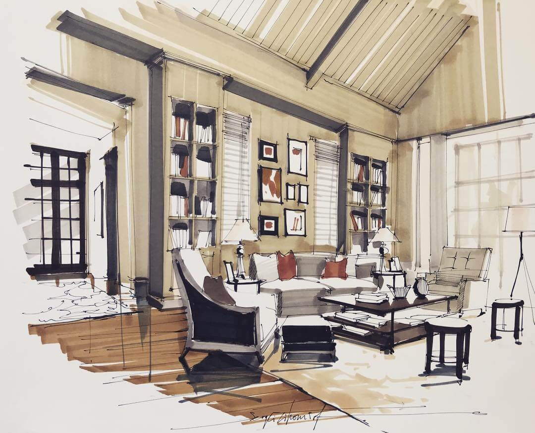 04-Beige-Living-Room-Sergei-Tihomirov-Home-Interior-Design-Drawings-www-designstack-co