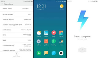 Download Dan Install Custom ROM MIUI 9 Global Beta 7.9.7 Lollipop / Kitkat Lenovo A6000