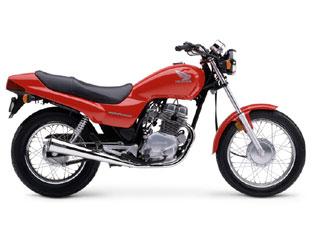 Honda Nighthawk 250 (red)