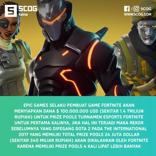 Epic Games Siapkan Dana 1.4 Triliun Untuk Turnamen Esports Fortnite