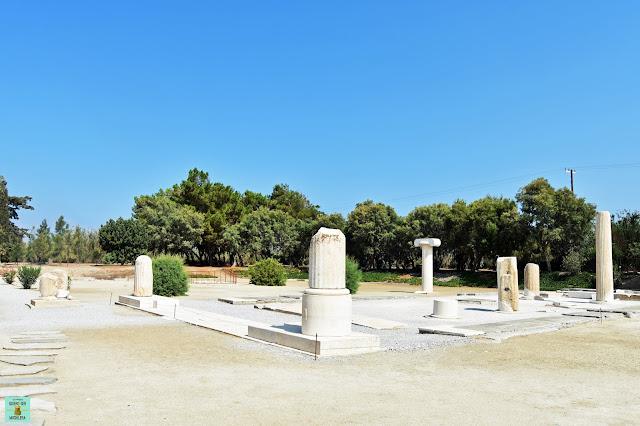 Templo de Dionysus, isla de Naxos (Grecia)