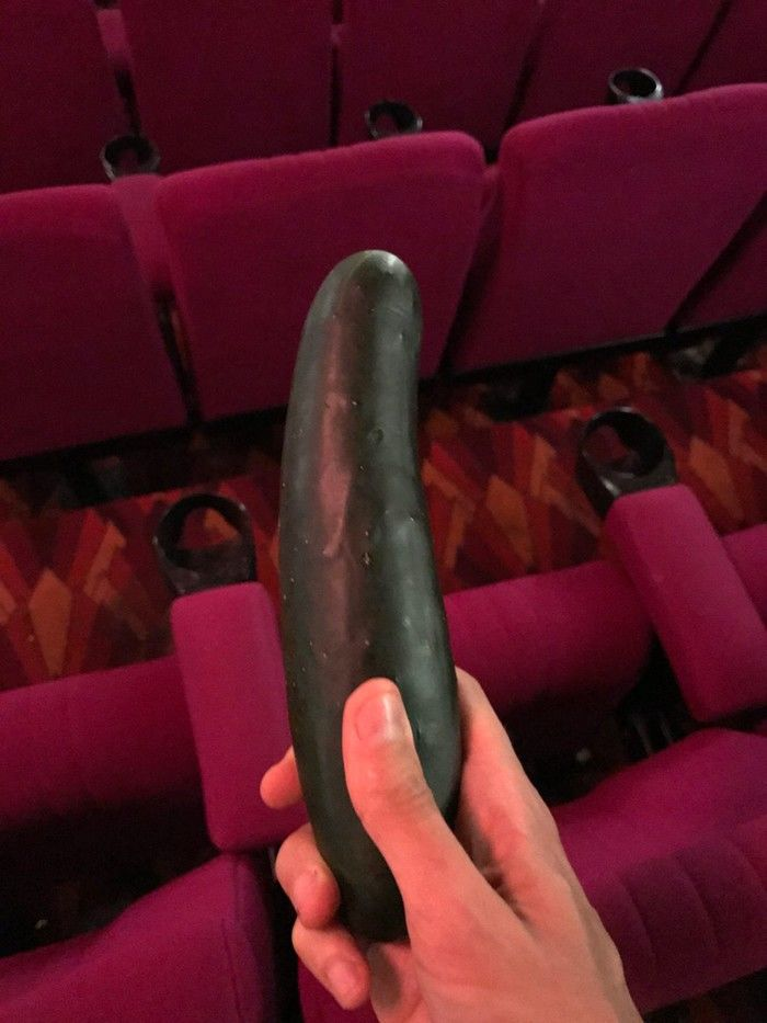 Lanterninha de cinema acha pepino após sessão de '50 Tons'