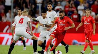 ملخص واهداف مباراة ريال مدريد واشبيلية 2-0 الدوري الاسباني اليوم 19/1/2019 Real Madrid vs Sevilla